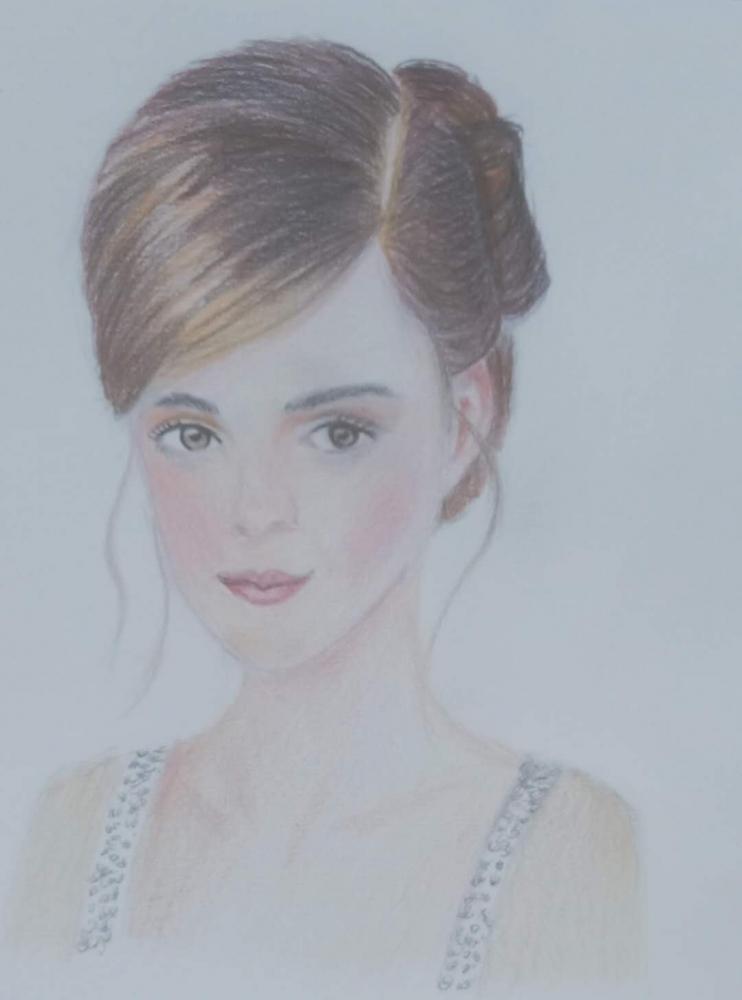 Emma Watson par yuanzheng